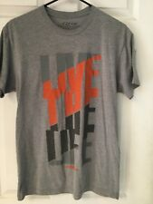 "Dye Paintball ""LIVE THE LIFE"" T-Shirt - Gray - Medium"