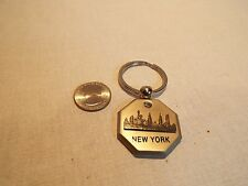 New York Skyline w/ Rhinestone Key chain . LOOK!