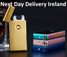 USB Dual Double Rechargeable Electric Electronic LIGHTER ARC PULSE Plasma Torch