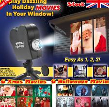 País de las maravillas Decoración Ventana Proyector Festival Halloween Navidad películas muestra una