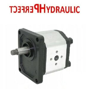 Hydraulic pump Gear Pump group 2 from 4 to 26 ccm shaft 1: 8 right flange bolt