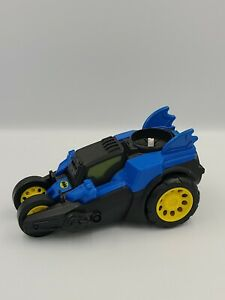 2012 Motorized Batmobile Imaginext DC Super Friends Moves with Sound Effects