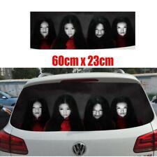 High Beam Reflective Creative Car Women Ghost Sticker Decal Wrap Rear Windshield