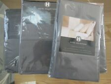 New Hotel Collection 100% Egyptian Cotton 600 TC Cal King Sheet Set Charcoal