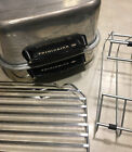 Frigidaire Radiant Wall Spatter Free Broiler Grill vintage aluminum  Extras
