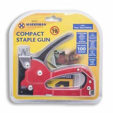 Compact Staple Gun Medium Duty Includes 100 4-8mm Staples