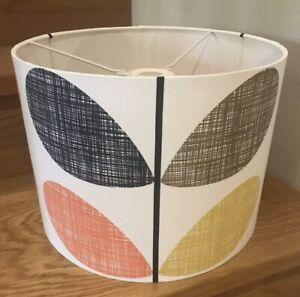 Handmade Lampshade in Orla Kiely Scribble Stem Fabric, Various sizes