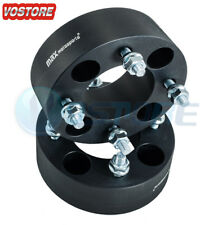 2pc 2.0 inch | 4x110 Black Wheel Spacers for Yamaha Rhino Kawasaki Honda Suzuki