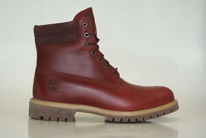 Timberland 6 Inch Double Collar Boots Waterproof Men Lace up Boots A151T