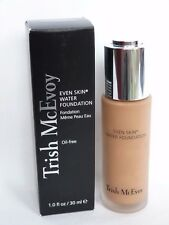 NEW  & BOX  Trish McEvoy  TAN 2 - EVEN SKIN WATER FOUNDATION  30ml  RRP £55