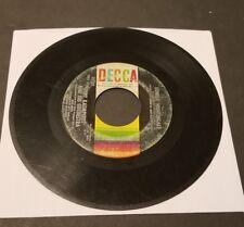 "BERT KAEMPHERT & HIS ORCHESTRA LONELY NIGHTINGALE"" DECCA RECORDS 45 RPM ORIGINAL"