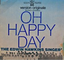 THE EDWIN HAWKINS SINGERS oh happy day/jesus lover of my soul SP BUDDAH RARE EX+