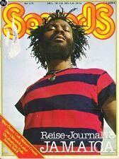 Magazin Sounds 5/1978,Jamaica Robert Crump Blue Öyster Cult Randy Newman Califor