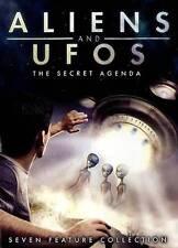 Aliens  UFOs: The Secret Agenda - 7 Feature Collection (DVD, 2013, 2-Disc Set)