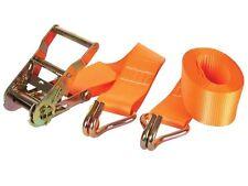 Ratelspanband - max1000kg -4.5mx50mm- Sangle d'arrimagetendeur cliquet +crochets