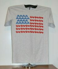 FLAG COMPRISED OF JEEPS T-Shirt  Medium, Gray