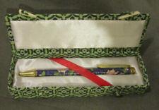 Cloisonne Pen In Box Ballpoint Works