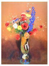 Odilon Redon Boquet de fleurs poster stampa d'arte immagine 80x60cm-germanposters