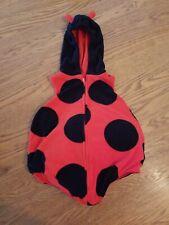 Ladybug Carters Halloween Costume Size 18 month plush & poofy