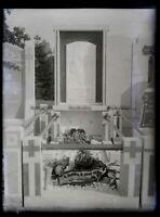 Germania Monumento Tomba c1900 Foto Negativo Placca Da Lente Vintage