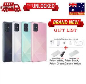 """New 6.7"""" Unlocked Factory Samsung Galaxy A71(SM-A715F/DS) Dual SIM AU STOCK"""