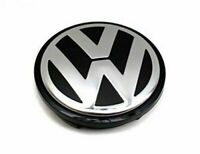 Genuine VOLKSWAGEN 'VW' Logo Emblem Wheel Center Cap 55mm 56MM 1J0601171