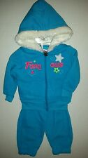 All About Me Girls Famous 2-PC Outfit Fleece Hoodie & Pants Set Size 3-6 months