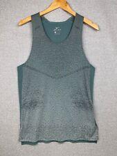 Nike Dri-Fit Run Division Pinnacle Knit Running Tank Vest, DA1296-387, Sz Med
