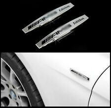 2PCS Mercedes A B C E S SL Classe GLA CLA AMG Logo 3D Métal Stickers