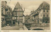 Ansichtskarte Hannover Partie an der Leine (Nr.9536)