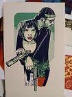 Leon The Professional Mathilda Natalie Portman Print Poster Mondo Tyler Stout