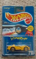 hot wheels 1995 série Gold Medal collector 210 Dodge Viper RT//10 CP04
