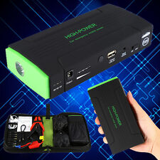 12V 30000mAh Car Jump Starter Emergency Charger Battery Booster Power Bank Pack