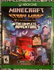 Minecraft Story Mode: The Complete Adventure Xbox One Game Great Condition