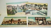 Lot of Four Postcards Marseille France Early 1900's Unused