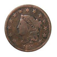 1831 Coronet Head Large Cent 1¢ Very Good+