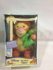 "FISHER PRICE DISNEY BABY Plush 9"" Soft MY FIRST TIGGER Pooh Babies BNIB"