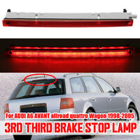 KKmoon High Mount Brake Light Red 8E9945097 Replacement for Audi A4 S4 B6 Avant Wagon 2001-2004