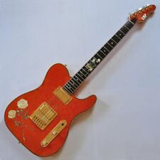 ESP USA Custom Rose Tele Electric Guitar