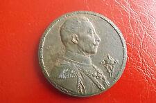 *Bronze Medaille Kaiser Wilhelm II. Dem Sieger im Olympia Prüfungskampf 1914