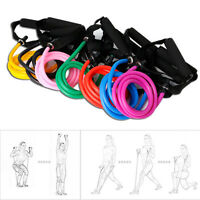 Elastic Latex Resistance Band Pilates Tube Pull Rope Fitness Yoga Gym Equipment