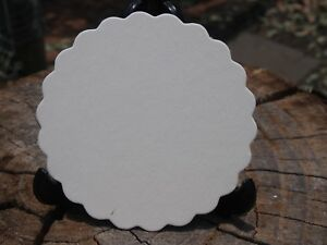 Coaster Board Scalloped Edge x 50 for Weddings and Parties (Craft)