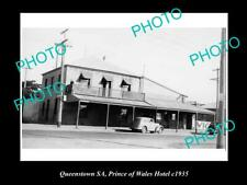 Old Postcard Size Photo Of The Prince Of Wales Hotel Queenstown Sa c1935