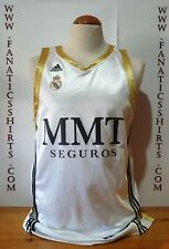 Real Madrid Basket 2011-2012 Homa Camiseta Adidas Shirt Trikot Maglia