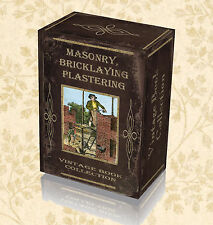145 Rare Books on DVD Bricklaying Masonry Plastering Stone Brick Construction 33