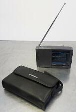 vintage world receiver radio Grundig Yacht Boy 207 Reise Weltempfänger + Tasche