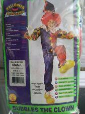 Bubbles The Clown Rubies Child Costume Size S 4 -6 50 % Off Final Sale !