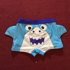 Baby Town Badehose ** Hai ** Gr.68/80/86 Blau England Neu