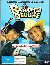 RANCHO DELUXE (Jeff BRIDGES Sam WATERSON) Comedy Western DVD NEW SEALED Region 4