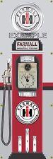 FARMALL IH TRACTOR OLD TOKHEIM GAS PUMP BANNER DISPLAY SIGN MURAL ART 2' X 6'